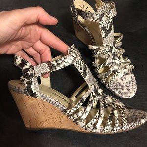 Issac Mizrahi Platform Sneak Sandals